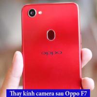 Thay kính camera sau Oppo F7